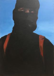 2016 Jihadi John 70 x 50cm