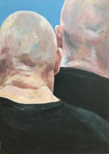 2016 Ein freund & Kamerad 70 x50 cm