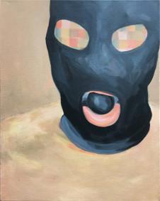 2016 Maske 50x 40 cm