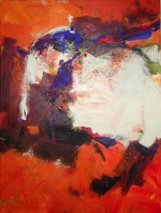 2001 abstrakt 120 x 90 cm