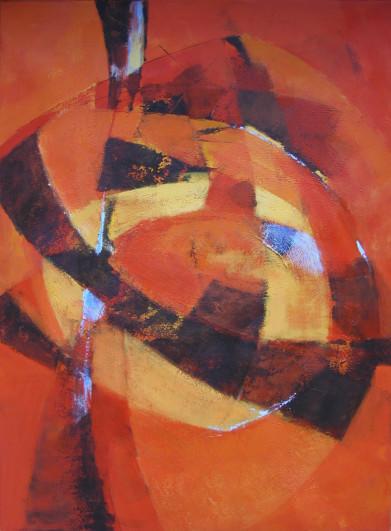 2003 Rot2 140 x 100 cm