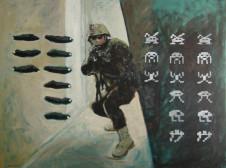 2006 Krieg der Kulturen 110 x 150 cm