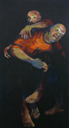 2010 oT (Caravaggio) 150 x 80